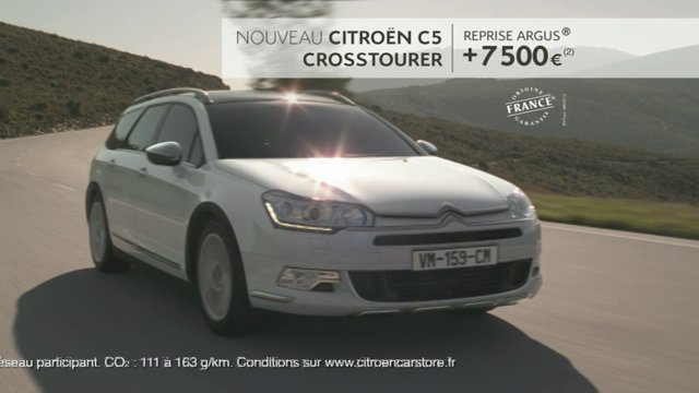 luxtone citroen c5 crosstourer 2014. Black Bedroom Furniture Sets. Home Design Ideas
